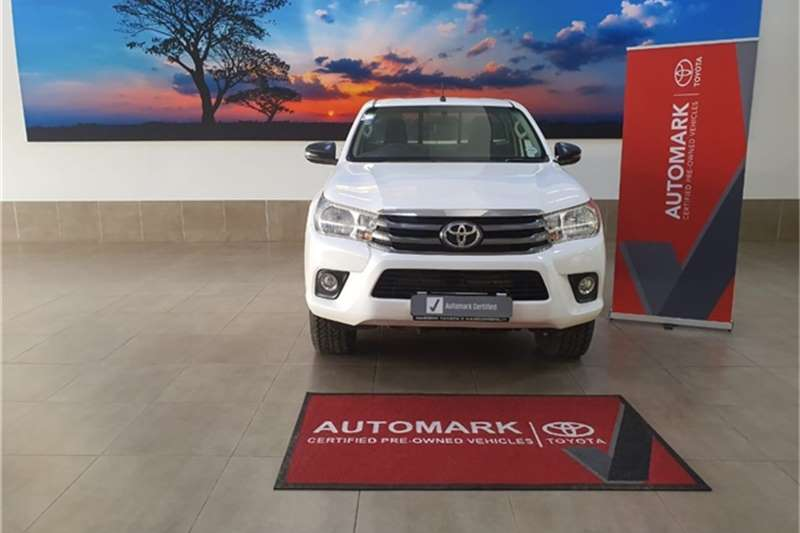 2018 Toyota Hilux single cab HILUX 2.4 GD 6 SRX 4X4 P/U S/C A/T