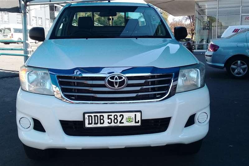 2014 Toyota Hilux single cab HILUX 2.4 GD 6 RB SRX P/U S/C