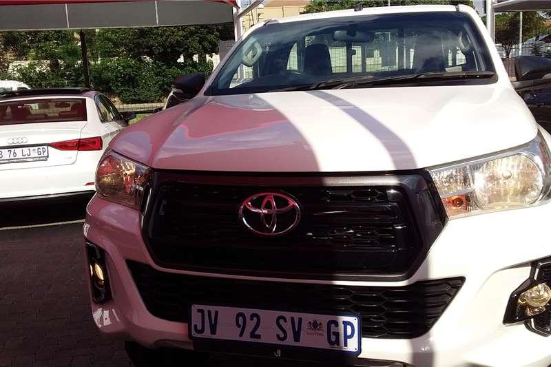 2019 Toyota Hilux single cab