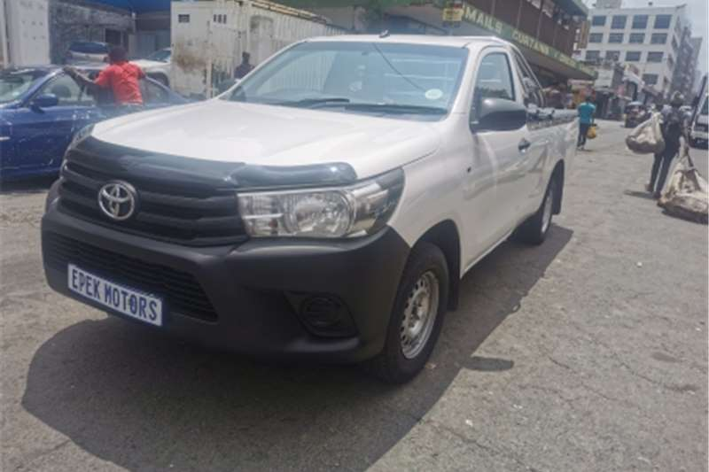 2014 Toyota Hilux single cab