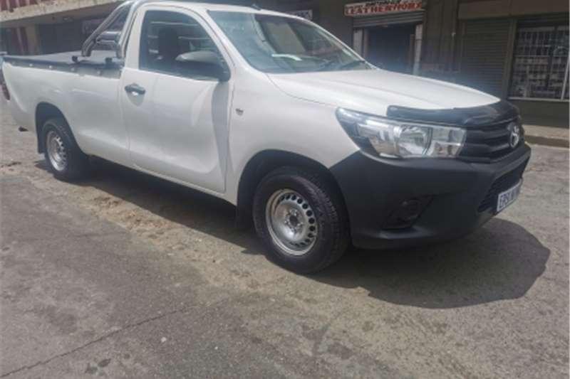2014 Toyota Hilux single cab HILUX 2.4 GD A/C P/U S/C