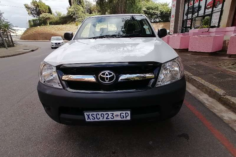 2011 Toyota Hilux single cab