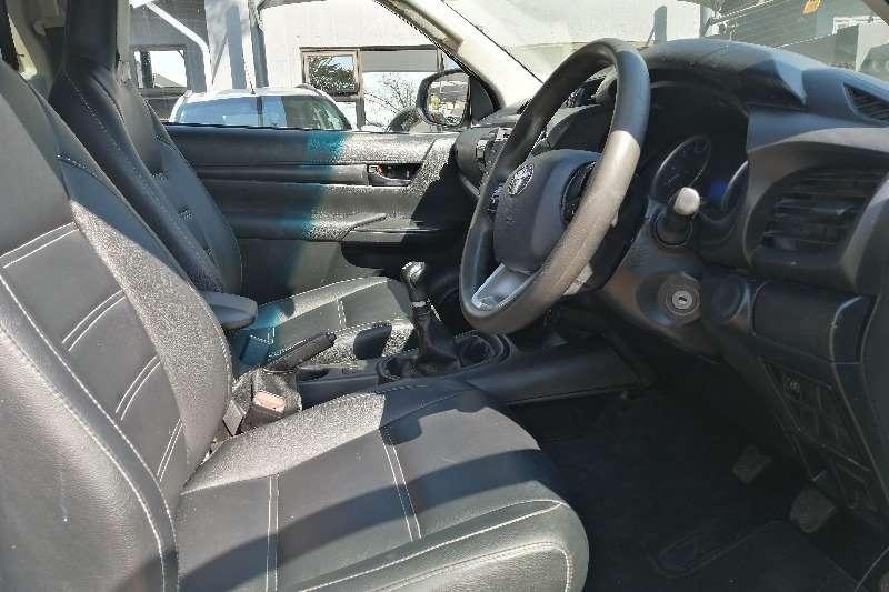 2017 Toyota Hilux single cab