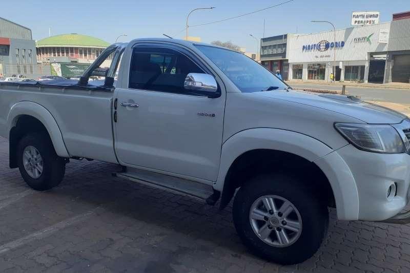 Toyota Hilux single cab Manual Diesel  2014