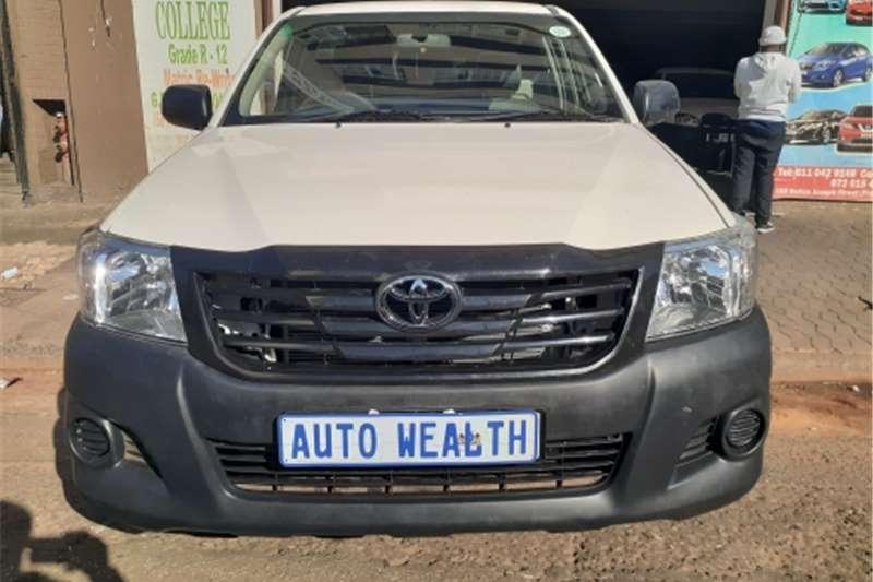 toyota hilux single cab toyota hilux 2.5 diesel 2014