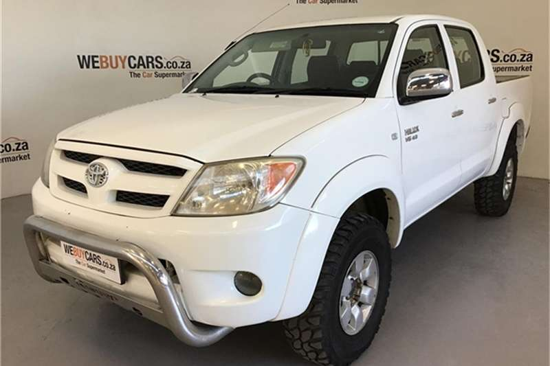Toyota Hilux V6 4.0 double cab 4x4 Raider automatic 2005