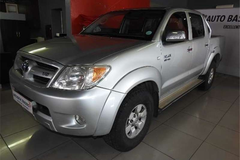Used 2007 Toyota Hilux V6 4.0 double cab 4x4 Raider automatic