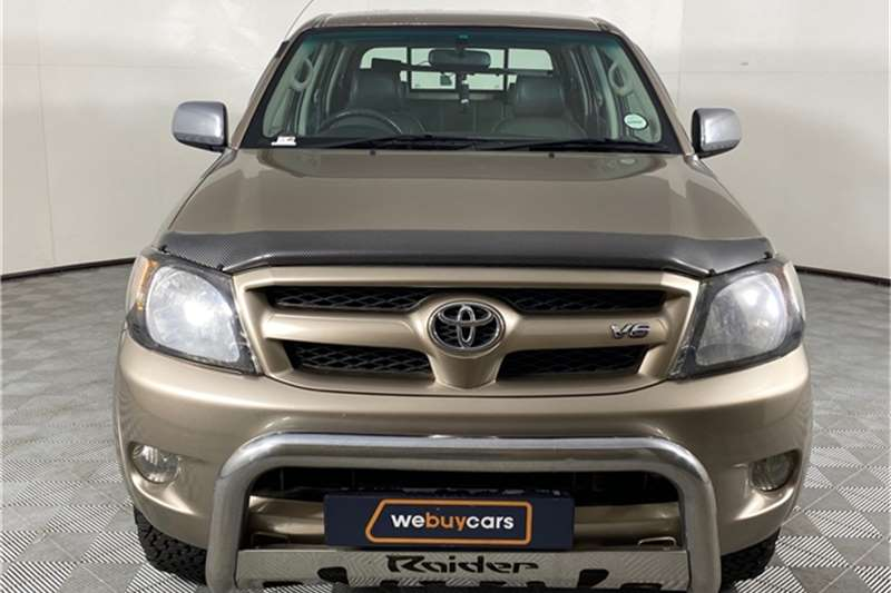 2007 Toyota Hilux Hilux V6 4.0 double cab 4x4 Raider automatic