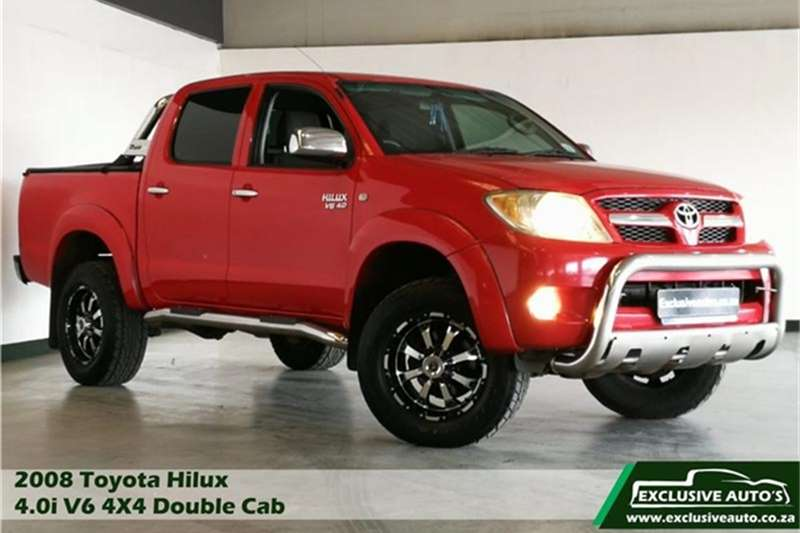 Toyota Hilux V6 4.0 double cab 4x4 Raider automatic 2008