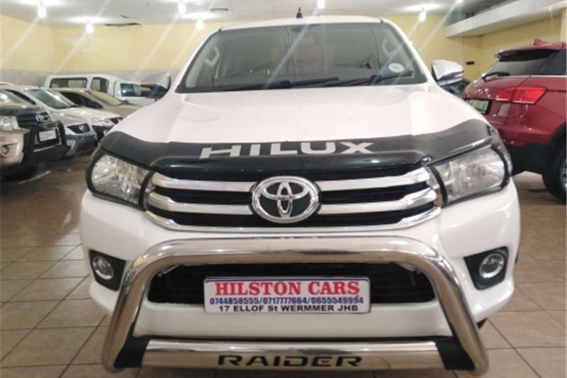 2017 Toyota Hilux Xtra cab