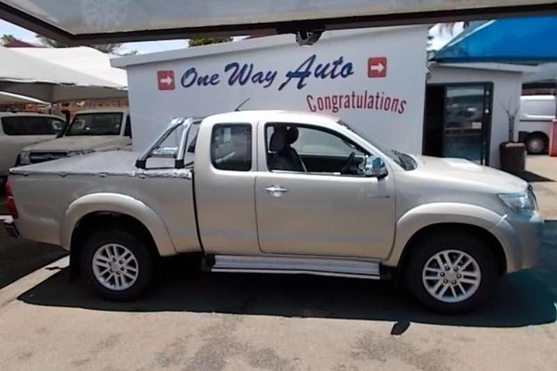 2012 Toyota Hilux Xtra cab