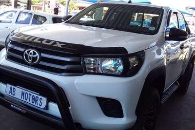 2016 Toyota Hilux Xtra cab HILUX 2.4 GD-6 RB RAIDER A/T P/U E/CAB