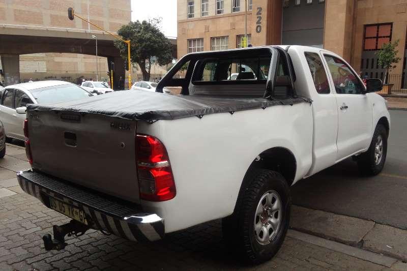 Used 2013 Toyota Hilux Xtra Cab HILUX 2.4 GD 6 RB SRX A/T P/U E/CAB