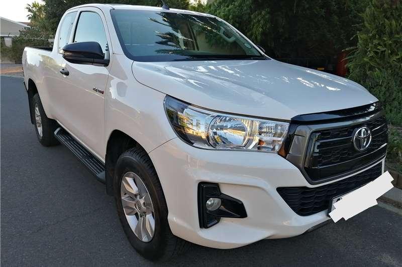 Toyota Hilux Xtra Cab HILUX 2.4 GD 6 RB SRX A/T P/U E/CAB 2018