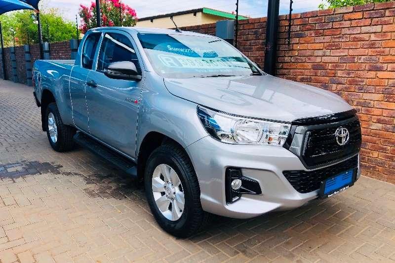 Toyota Hilux Xtra cab HILUX 2.4 GD-6 RB SRX A/T P/U E/CAB 2019