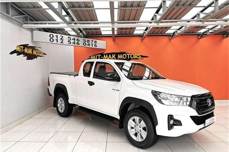 Toyota Hilux Xtra Cab HILUX 2.4 GD 6 RB SRX A/T P/U E/CAB 2019