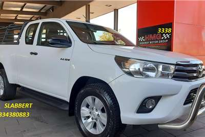 Used 2018 Toyota Hilux Xtra Cab HILUX 2.4 GD 6 RB SRX P/U E/CAB