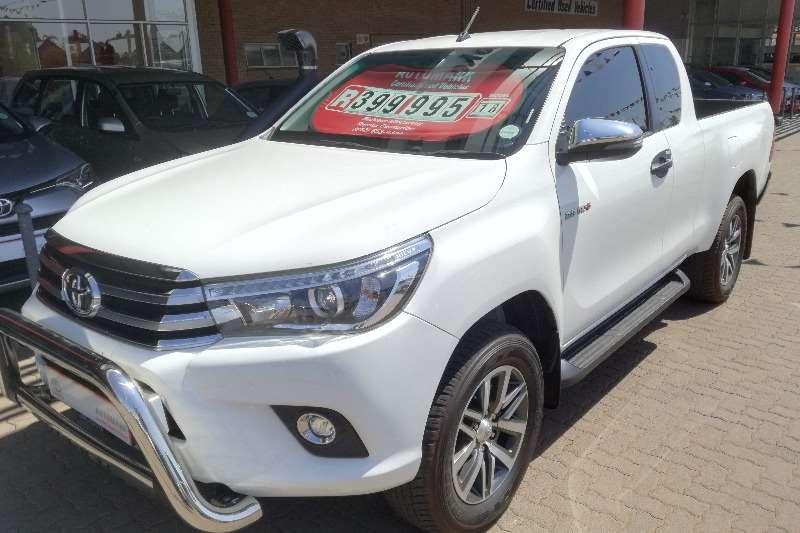 Toyota Hilux Xtra Cab HILUX 2.8 GD 6 RAIDER 4X4 P/U E/CAB DYR272L 2018