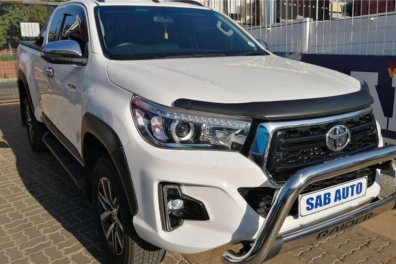 Toyota Hilux Xtra Cab HILUX 2.8 GD 6 RB RAIDER 4X4 A/T P/U E/CAB 2018