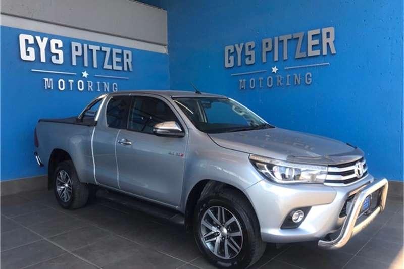 Used 2018 Toyota Hilux Xtra Cab HILUX 2.8 GD 6 RB RAIDER 4X4 P/U E/CAB A/T