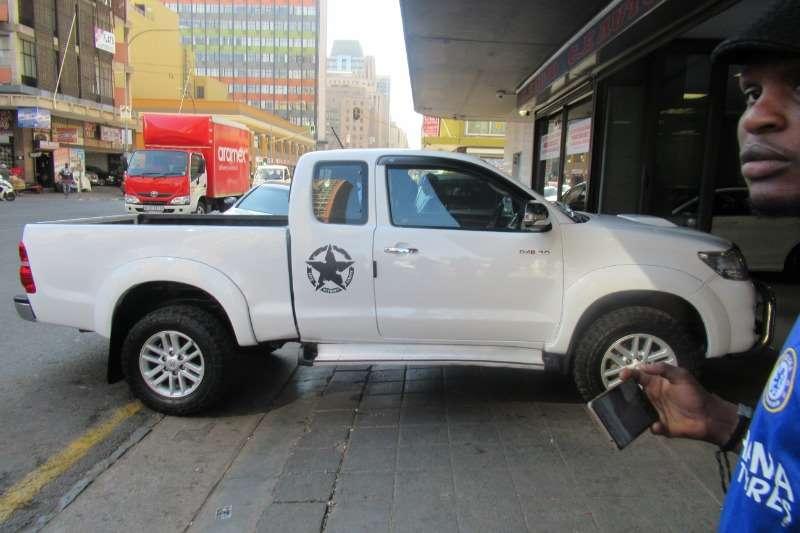 Toyota Hilux Xtra Cab Hilux 3.0 2014