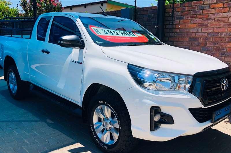 2019 Toyota Hilux Xtra cab HILUX 2.4 GD 6 RB SRX A/T P/U E/CAB