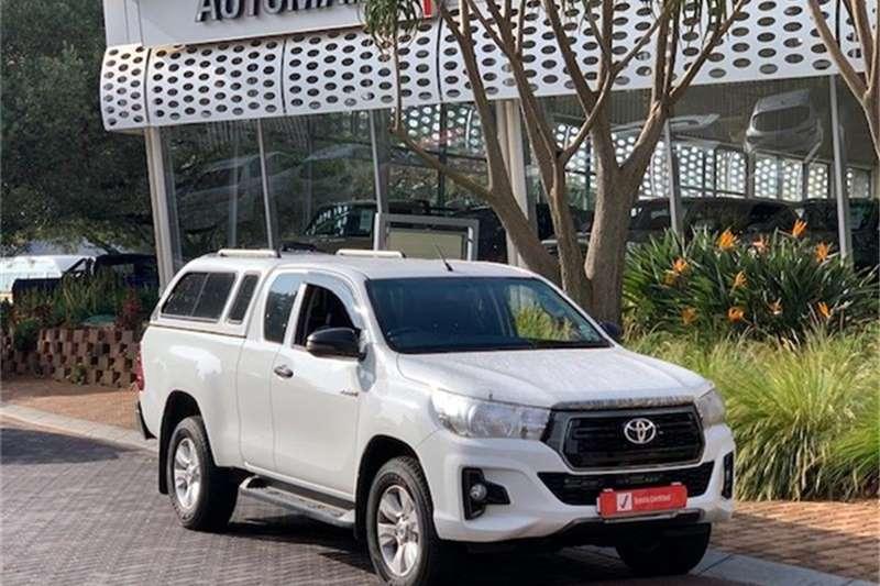 2019 Toyota Hilux Xtra cab HILUX 2.4 GD 6 RB SRX P/U E/CAB