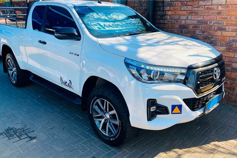 2018 Toyota Hilux Xtra cab HILUX 2.8 GD 6 RB RAIDER 4X4 A/T P/U E/CAB