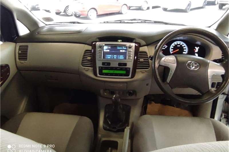 2012 Toyota Innova Innova 2.7 8-seater