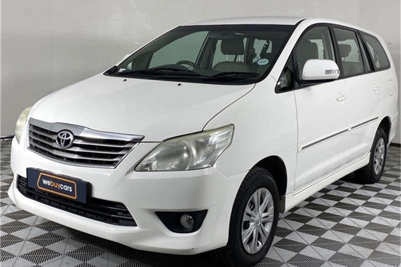 2013 Toyota Innova Innova 2.7 8-seater