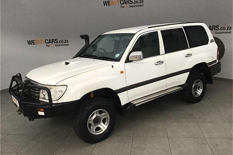 Toyota Land Cruiser 100 4.2D GX 2007