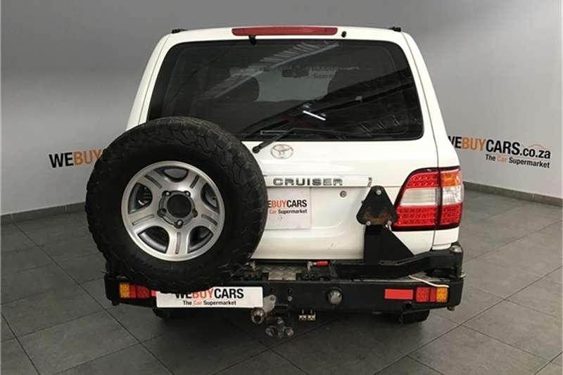 2007 Toyota Land Cruiser 100 4.2D GX