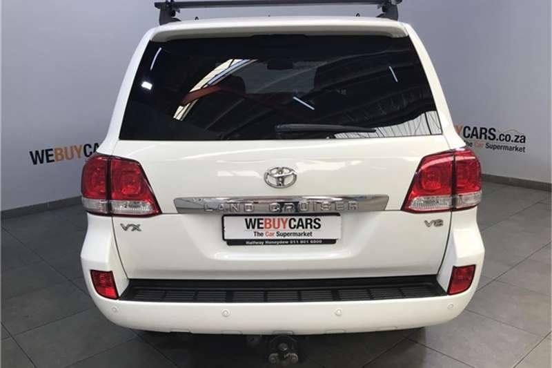 Toyota Land Cruiser 200 4.5D 4D VX 2011