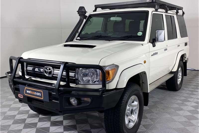 Used 2015 Toyota Land Cruiser 76 4.5D 4D LX V8 station wagon
