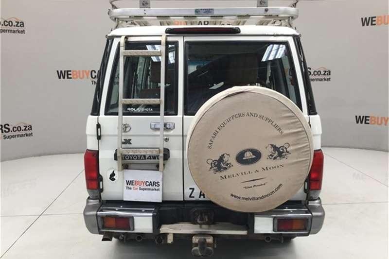 2009 Toyota Land Cruiser 76 4.2D station wagon LX