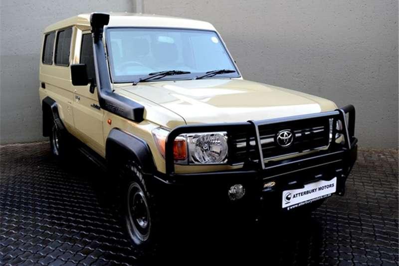 Toyota Land Cruiser 78 4.2D wagon 2013