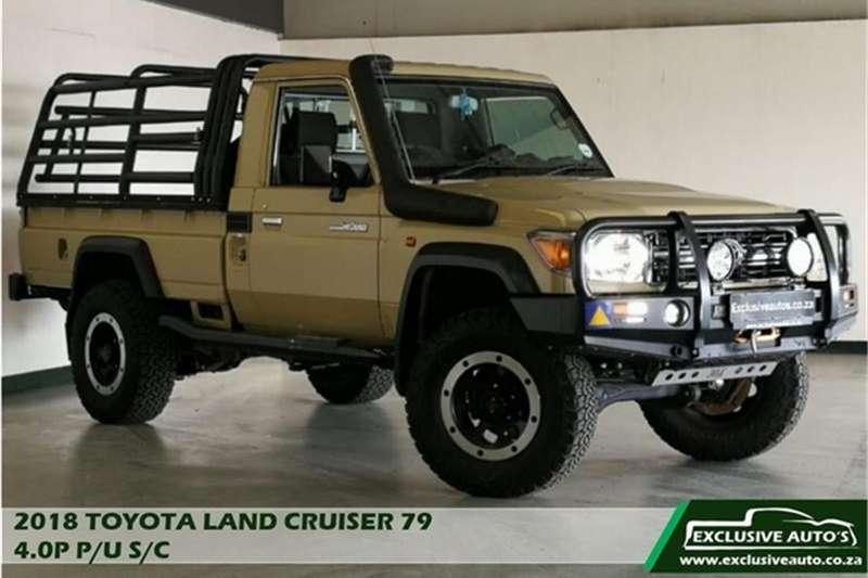 Toyota Land Cruiser 79 4.0 V6 2018