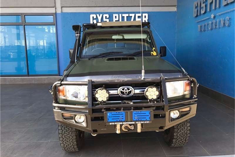 Used 2013 Toyota Land Cruiser 79 4.2D double cab