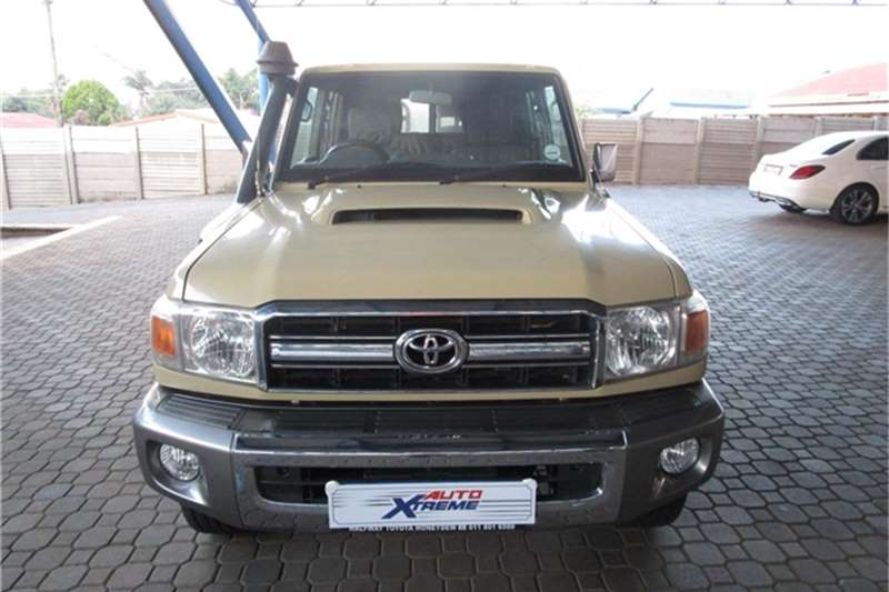 Used 2014 Toyota Land Cruiser 79 4.5D 4D LX V8 double cab