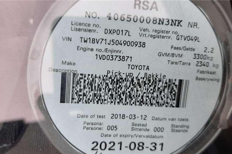 Toyota Land Cruiser 79 Double Cab LAND CRUISER 79 4.5D P/U D/C 2017