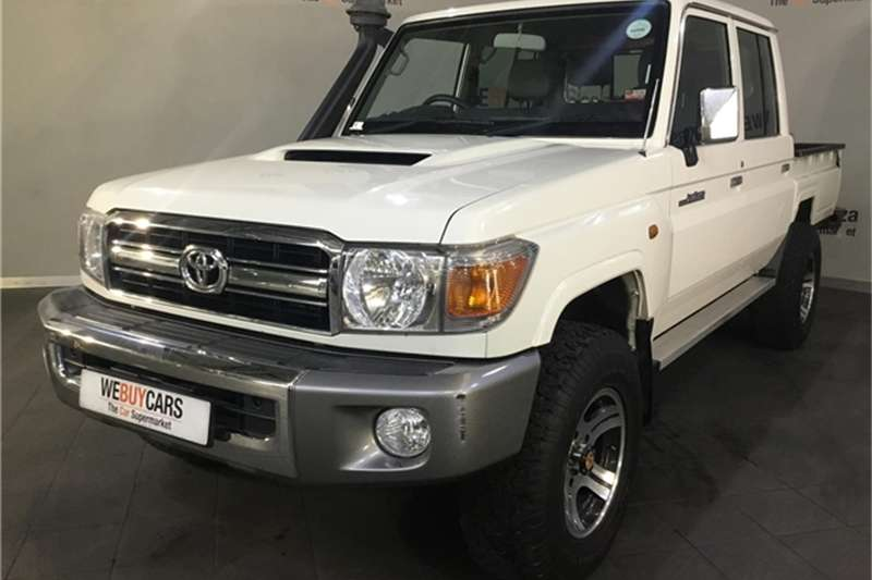 2014 Toyota Land Cruiser 79 4.5D 4D LX V8 double cab