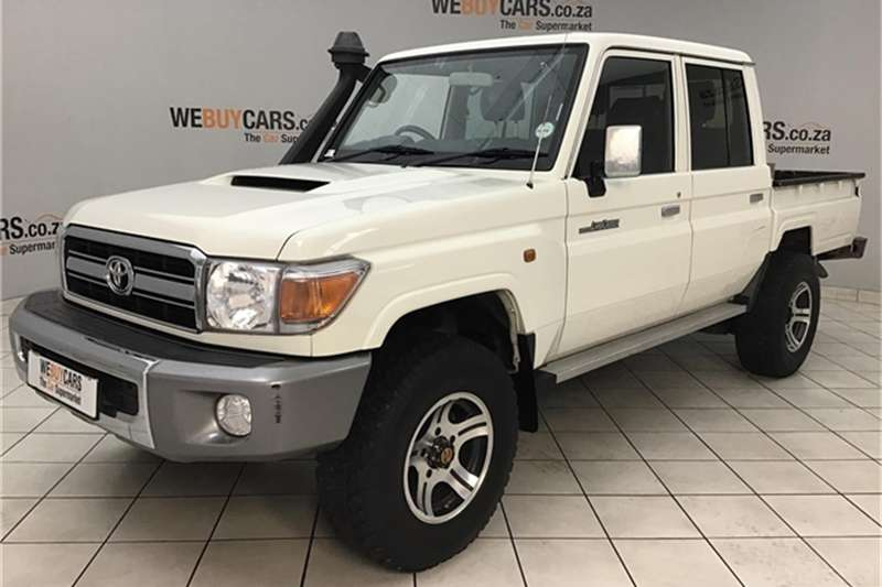 2014 Toyota Land Cruiser 79 4.5D 4D LX V8 double cab