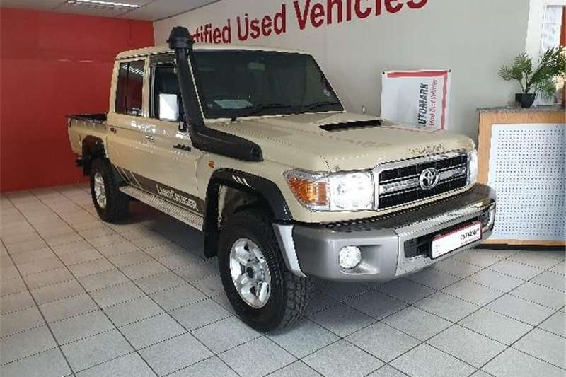 2016 Toyota Land Cruiser 79 4.5D 4D LX V8 double cab