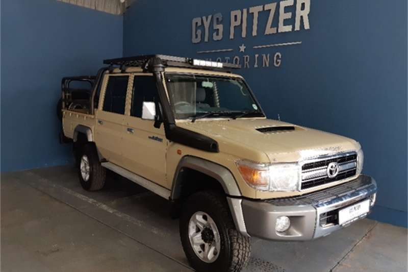 2015 Toyota Land Cruiser 79 4.5D 4D LX V8 double cab