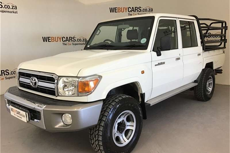 2013 Toyota Land Cruiser 79 4.0 V6 double cab