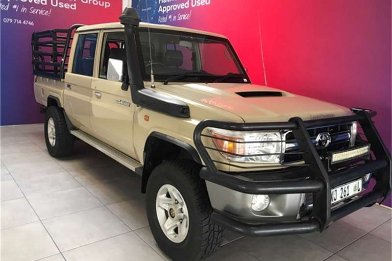 2013 Toyota Land Cruiser 79 4.5D 4D LX V8 double cab