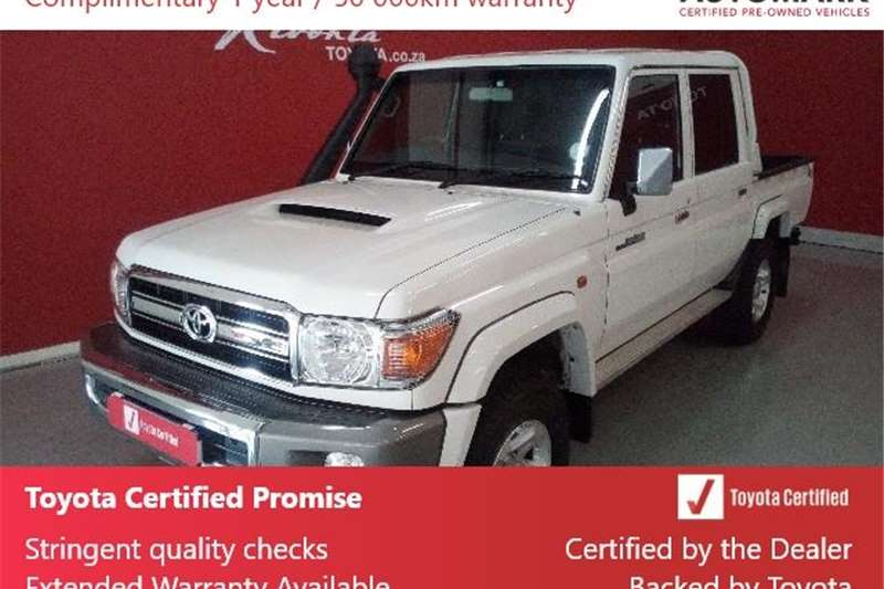 2019 Toyota Land Cruiser 79 4.5D 4D LX V8 double cab