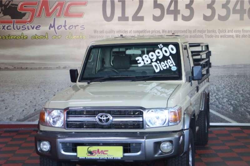 2015 Toyota Land Cruiser 79 4.2D