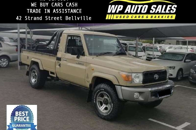 Toyota Land Cruiser 79 Single Cab LAND CRUISER 79 4.0P P/U S/C 2012