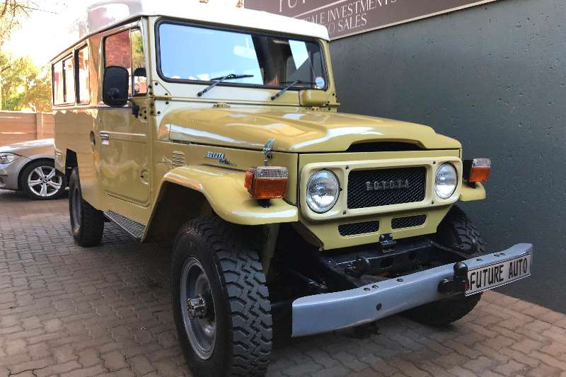 Toyota Land Cruiser J45 S/Wagon 1982